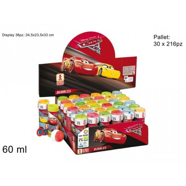 BOLLE DI SAPONE DISPLAY 36PZCARS 3 ART 1