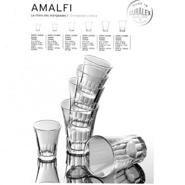 BICCHIERE AMALFI SET 4 PZ. CL.9