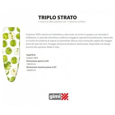 COPRIASSE TRIPLO STRATO 140X54