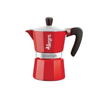 CAFFETTIERA ALLEGRA 6 TZ ROSSA