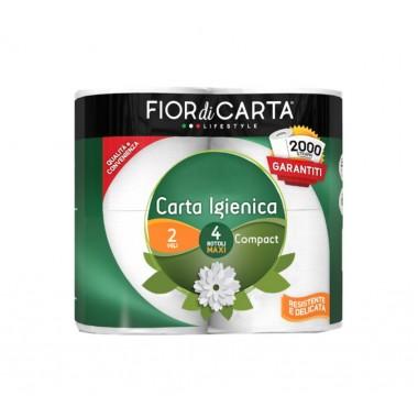 EUROVAST CARTA IGIENICA 4R 2V COMPATTA