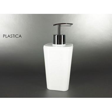 DISPENSER PLASTICA BIANCO