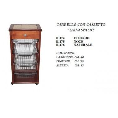 CARRELLO SALVASPAZIO ROVERE